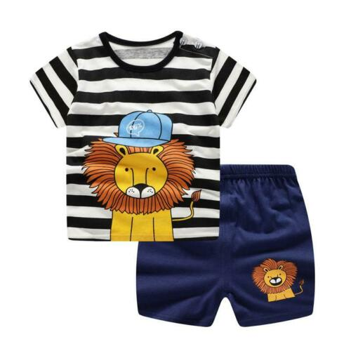 Brand Designer Baby Boy Clothes Sport Clothing Tracksuit Active  Striped Tshirt