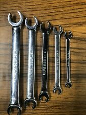 Snap On 5 Pc Box End Flare Nut Wrench Set