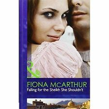 Falling for the Sheikh She Shouldn't (Mills & Boon Hardback Romance)-ExLibrary