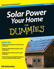 Solar Power Your Home For Dummies by Rik DeGunther (Paperback, 2010)