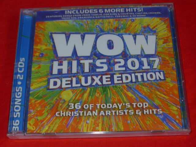 WOW Hits 2017 by Various Artists (CD, Sep-2016, 2 Discs, Wow Gospel Hits)