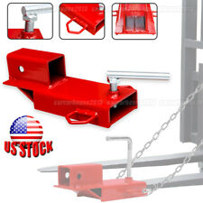 2 Clamp On Forklift Hitch Receiver Pallet Fork Trailer Towing Adapter 3000 Lbs