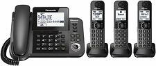 Panasonic KX-TGF383M Link2Cell Bluetooth Corded/Cordless Phone System 3 Handsets