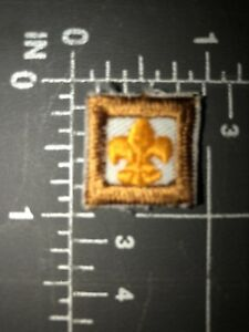 Vintage Bsa Boy Scouts Of America Fleur De Lis Scout Symbol Logo