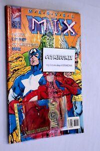 MARVEL MIX n. 6 Marvel 1996 con 8 Marvel Card Marvel Metal Inaugural Edition - Italia - MARVEL MIX n. 6 Marvel 1996 con 8 Marvel Card Marvel Metal Inaugural Edition - Italia