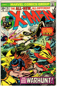 Uncanny X-Men #95, FN+ 6.5, Death of Thunderbird; 3rd Appearance New X-Men