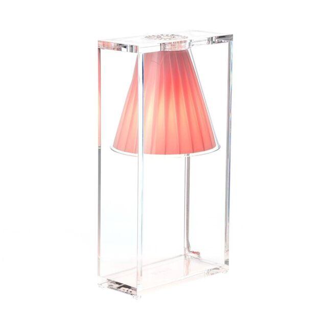 Kartell Lampada Da Tavolo Light Air Rosa Ebay