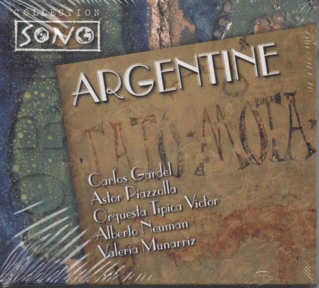 Argentine Collection Sono CD NEU Carlos Gardel Astor Piazzolla Alberto Neuman