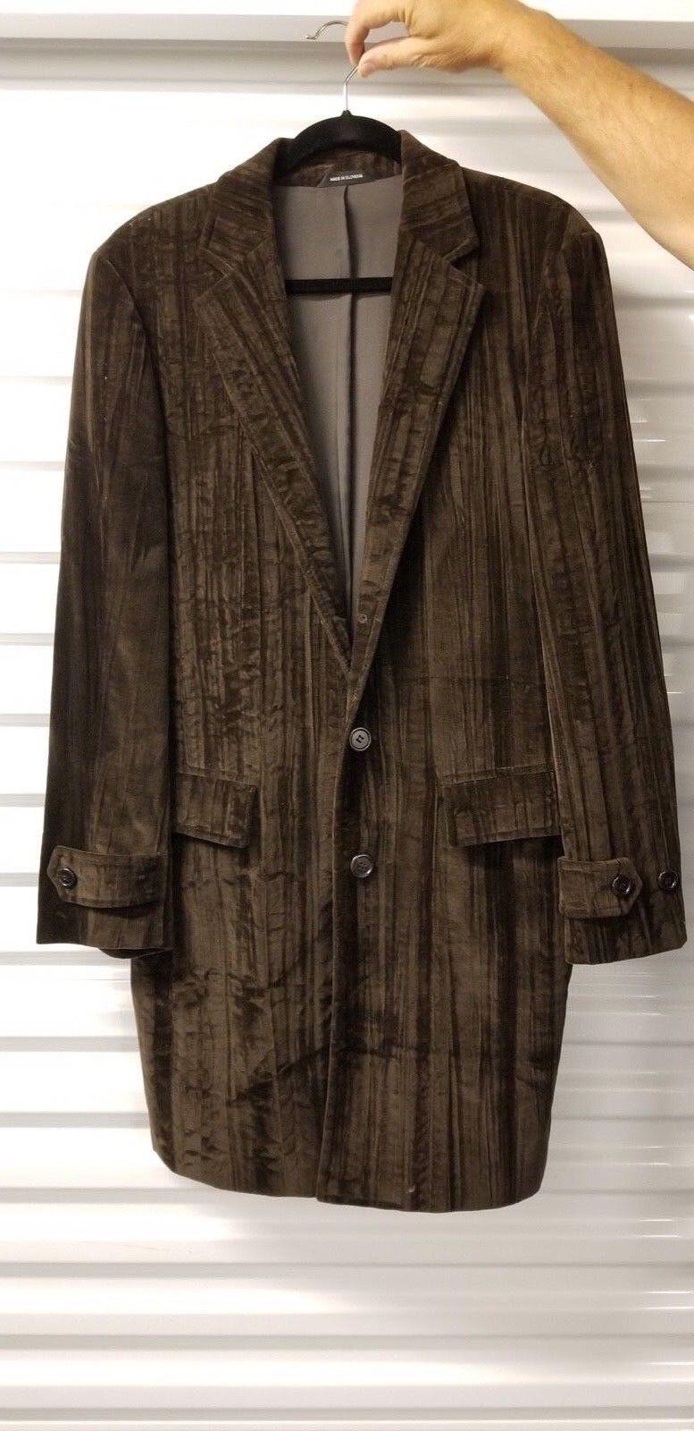 Herren Hugo Boss Coat Braun 38R