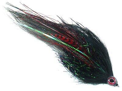 406Flies Red//White Bass // Pike // Musky Mutator Minnow Fly Pattern
