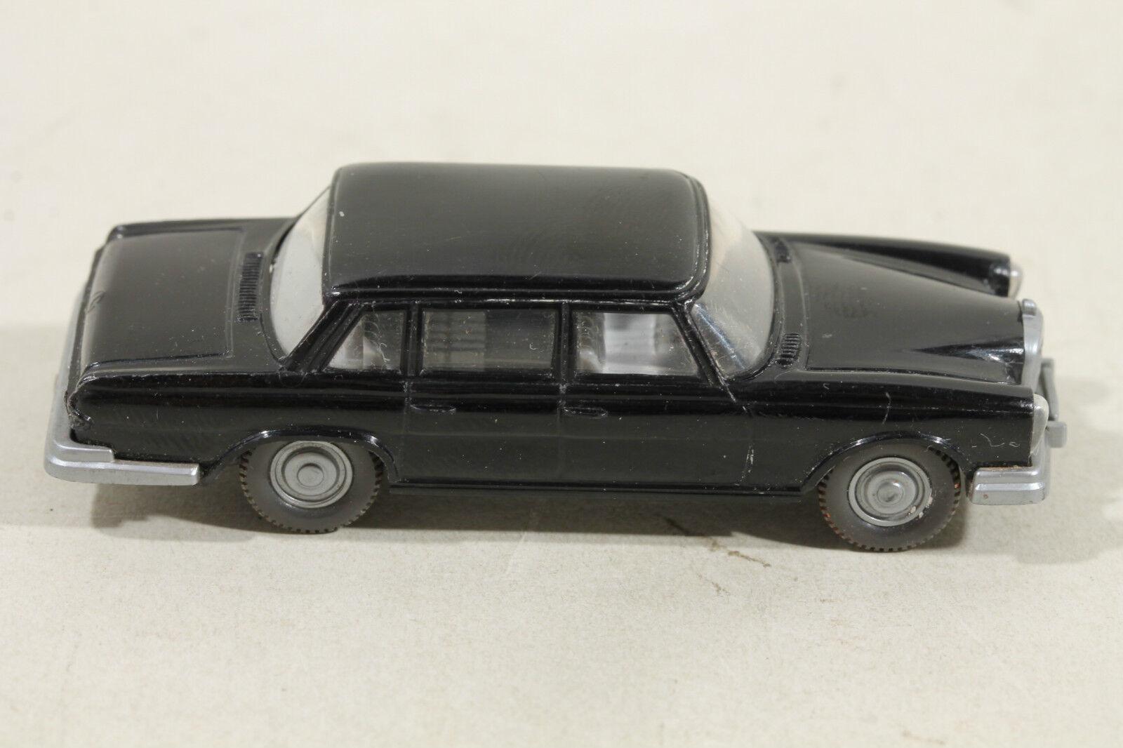 156 Typ 1E Wiking MERCEDES 600 1966 - 1970   schwarz  | Schöne Farbe