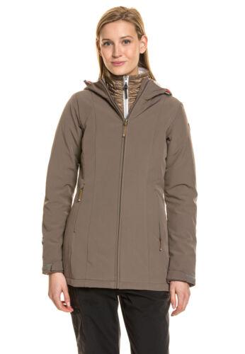 ICEPEAK Damen Jacke warm winter gefüttert Stretch Komfort Größe XL//42