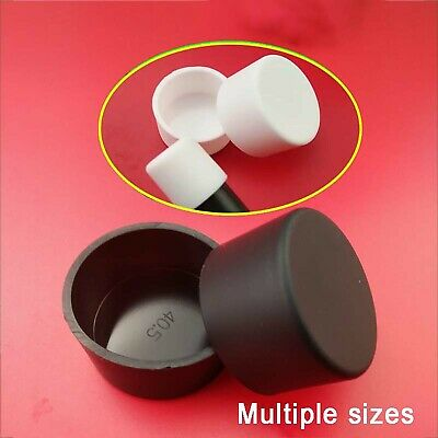 Black//White Silicone Rubber Hose End Blanking Cover Caps Cap Off Bung 2.8~60.5mm