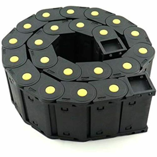 Details about  /Cable Drag Chain Wire Carrier High Toughness Closed Plastic 25mm77mm FREE SHIP