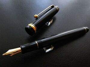 PILOT-NAMIKI-CUSTOM-74-PLUME-MUSIQUE-OR-14-CARATS-14K-GOLD-MUSIC-NIB-FOUNTAINPEN