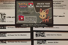 Pokemon : CHARIZARD MEWTWO PIKACHU MEGA GYARADOS + MORE ONLINE CODES  Sent Fast.