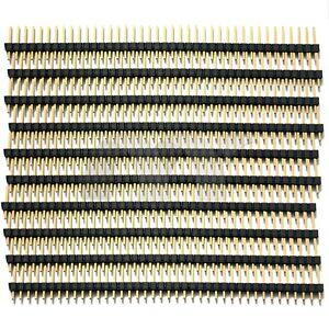 10-Pcs-40-Pin-2-54-mm-Single-Row-Straight-Pin-Header