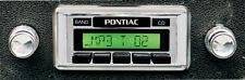 64 65 66 67 Pontiac GTO Lemans USA 630 II Radio Custom Autosound USB MP3 Aux