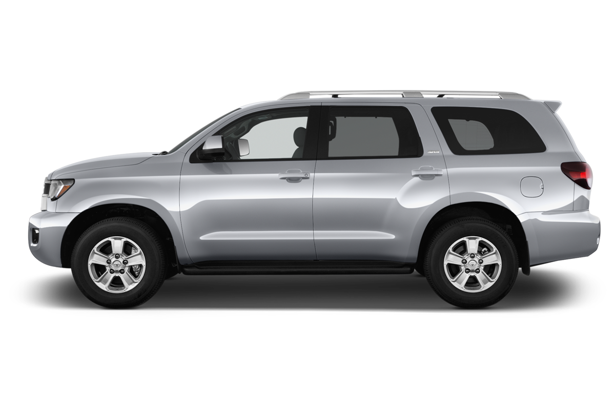 Toyota Sequoia side view