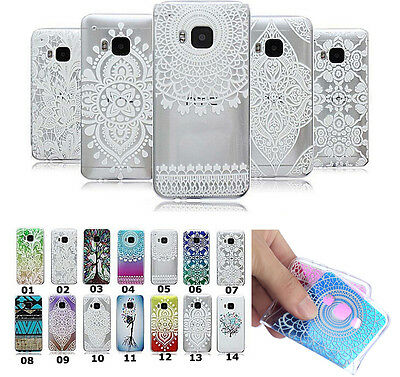 Ultra-thin Soft Rubber TPU Protective Skin Back Case Cover For Samsung Galaxy