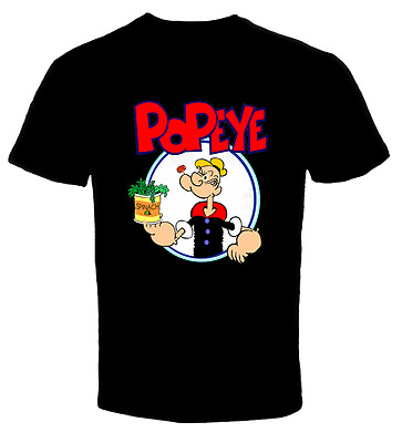 Popeye The Sailor Man Licensed Adult T Shirt