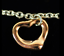 Tiffany-amp-Co-Peretti-18K-Rose-Gold-Open-Heart-Sterling-Silver-Bracelet-Bangle thumbnail 2