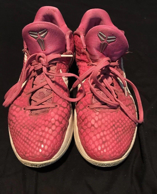 Kobe 6 Kay Yow Breast Cancer Think Pink Men's Size 10 RARE