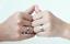 Coppia-Fedine-Cuore-Spezzato-Satinate-Uomo-Donna-Personalizzabile-Incisione-occa miniatura 7