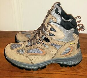 Vasque Breeze 7466 Mens 9.5 W Brown Gore-Tex Waterproof Hiking Boots Excellent
