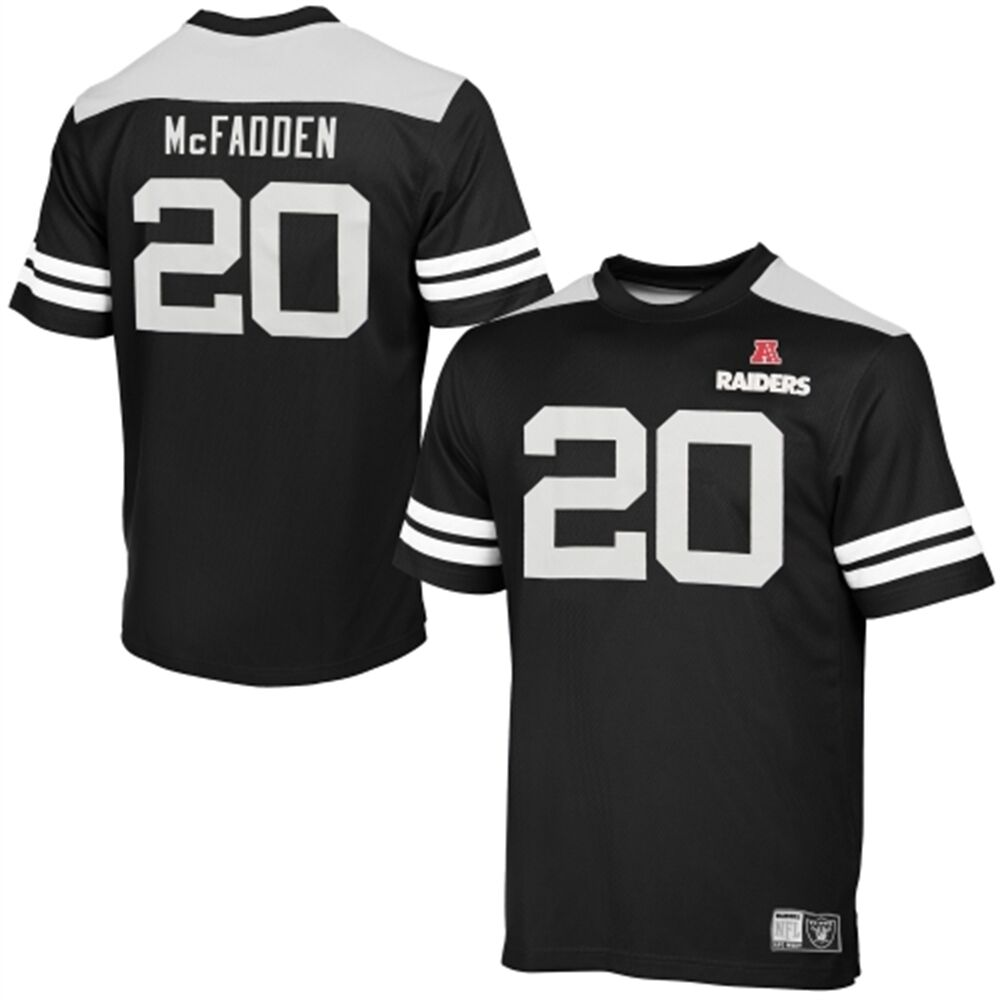 NFL OAKLAND RAIDERS Football Trikot Jersey Shirt Darren McFadden 20 Hashmark