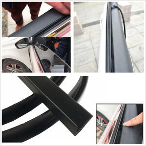 4m Rubber Seal Strips Soundproof Car Window Glass Door Sound ...