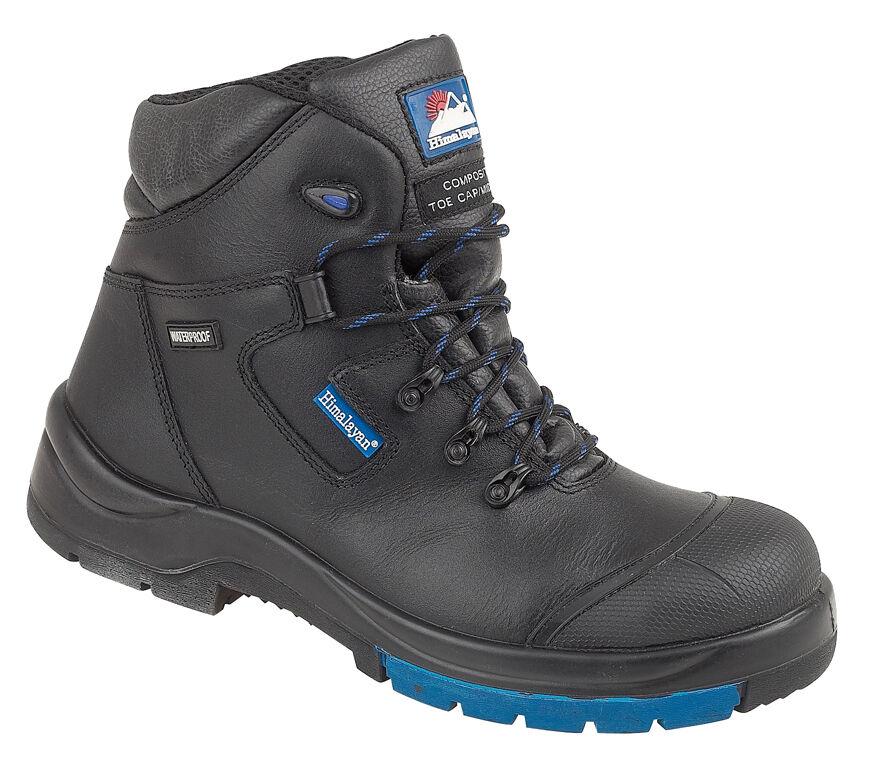 Himalayan 5160 s3 SRC NERO hygrip Composite METAL FREE Impermeabile Stivali di sicurezza