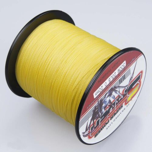 Super 100-2000M 15-90LB Fishing Braid Carp Line Banana Yellow Spod Marker