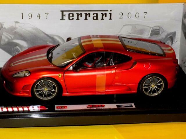 Hot Wheels 118 Elite Ferrari F430 Scuderia 60th Anniversary