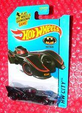 2015 Hot Wheels  Batmobile  #62  HW City   CFK20-09B0A