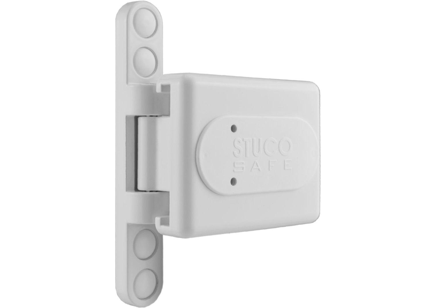 Bever 23SW Bandseitensicherung weiß Fenster Tür Sicherung sichern Sicherheit