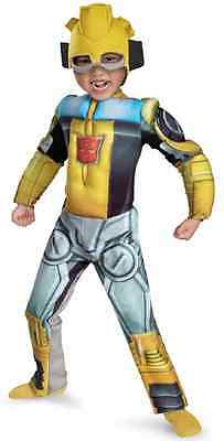 Bumblebee Transformers Rescue Bots Fancy Dress Halloween Toddler Child Costume