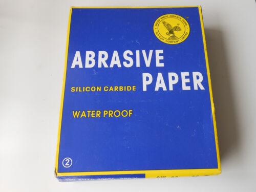 "10 pcs Hi Quality Abrasive Paper Sandpaper 2000 Grit 9/"" x 11/"" Wet Dry Waterproof"