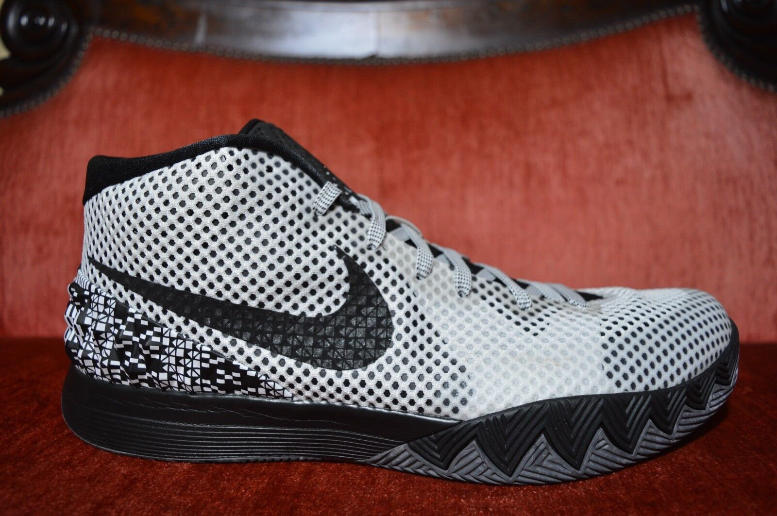 WORN 1X Nike Kyrie 1 BHM Size 13 718820-100. Black History Month dream all star