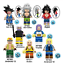 Collection-of-8-Pcs-Minifigures-Anime-Dragon-Ball-Son-Goku-Vegeta-Hit-Lego-MOC miniature 2