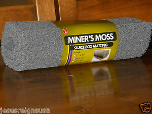 Gray Miner S Moss Sluice Box Matting 12 Quot X 36 Quot X 10mm