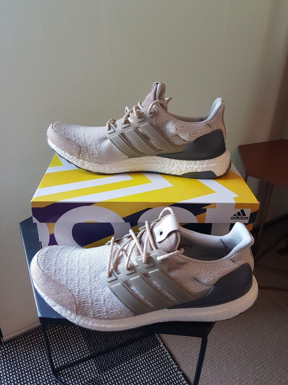 Adidas Consortium Ultra Boost Lux, Vintage blancoa, 11.5US, cerca nueva condición