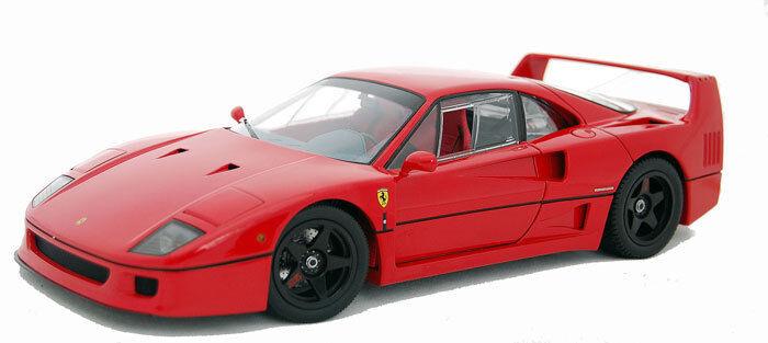 Ferrari F40 Ligero Rojo Rosso corso Kyosho Muy Raro 1st Edición Nuevo En Caja