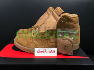 SHIP NOW Nike Air Jordan 1 Retro High Wheat 8-14 Golden Harvest Flax 555088-710
