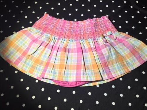 Gymboree skirt skort Wish You Were Here 6 12 18 24 2T 3T 4T 5T 4 5 choice EUC