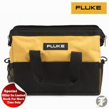 Véritable Fluke C550 Grand Kit Outil Sac Acier Renforcée Cadre Étui de Transport