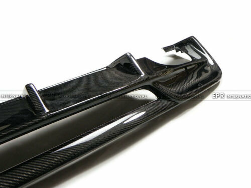 Carbon RG Style Sport Model Rear Bumper Diffuser Fit For BMW E82 E88 2Door Coupe