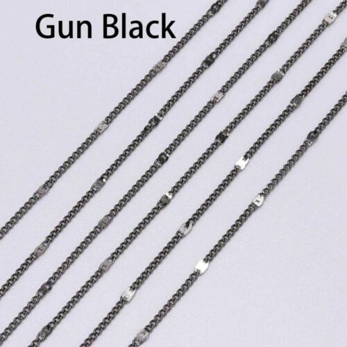 Chain Plated Brass Bulk Pendant Necklace Iron Chain Metal Jewelry Making Finding