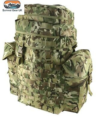 British Kombat UK 50 Litre Bergen Rucksack BTP Camo Recon MTP Army