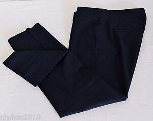 Nwt Crew 00 A0072 Pant J Maat Stretch Cotton Campbell Capri van Black 1f6dwvx6q